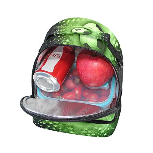 el ajustable de térmica diseño con correa de Bolsa con hombro para fútbol Alinlo balón wHaxf1qa7