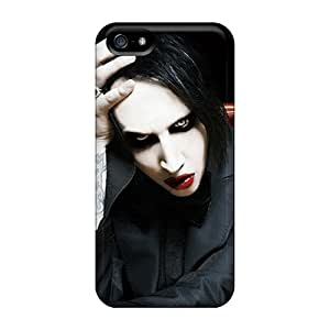 High Quality PNA17083KttV Marilyn Manson Cases For Iphone 5/5s