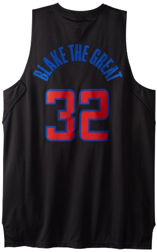 NBA Men's Los Angeles Clippers Blake Griffin Black Swingman Jersey (Black, X-Large) - Los Angeles Clippers Swingman Jersey