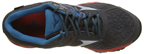 Shoe Mujin G Herren Sneakers Tx Wave Mehrfarbig 001 Silv Mizuno Shadow Dark Ctomato qCxTwO5