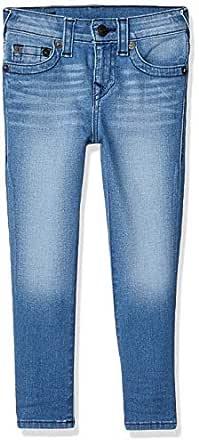 True Religion Boys TR719JN10 Rocco Jean Jeans - Blue - 2T