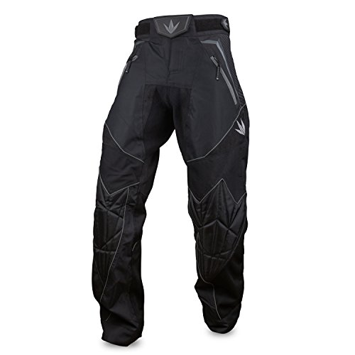 (Bunker Kings V2 Supreme Paintball Pants (Medium (MD), Black))