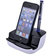 Amazon Lightning Deal 95% claimed: Patec USB Desktop Charger Cradle Dock Station for iPhone 5 5G iPad 4 iPad Mini