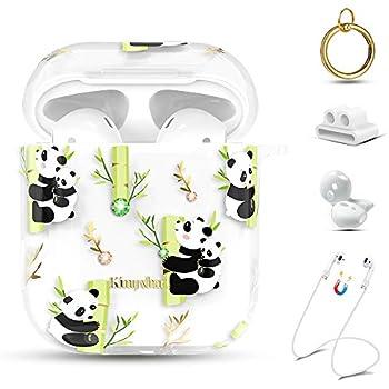 Amazon.com: Cute Panda Airpods Case for Girls,Pink Airpods