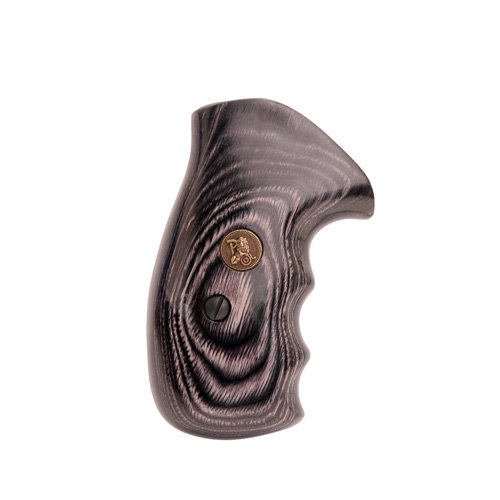 Pachmayr 63031 Renegade Wood Laminate Pistol Grips, Smith & Wesson K&L Frame, Charcoal, Smooth ()