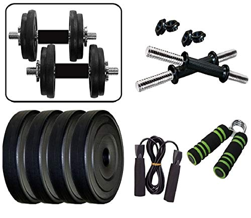 Aurion Home Gym Weight Lifting Pack 10 Kg with Hand Grip x 1