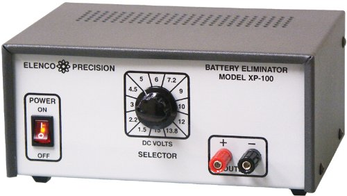 Elenco Deluxe Battery Eliminator - Model XP-100 - Solid State DC Power Supply