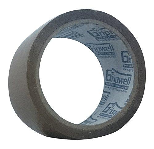 Gripwell 12BRH50 BOPP Self Adhesive Tape, 50 Meter – Very High Adhesive