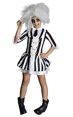 [Rubie's Costume Beetlejuice Child Costume, Large] (Beetle Juice Wig)