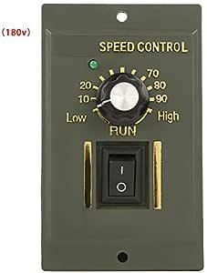 Controlador de motor CC Entrada AC 220V DC 0~180V Regulador de ...