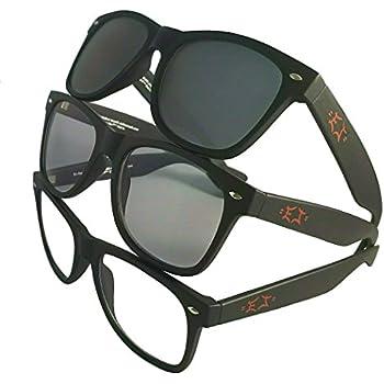 Amazon.com: Gafas de sol híbridas para motocicleta con lente ...