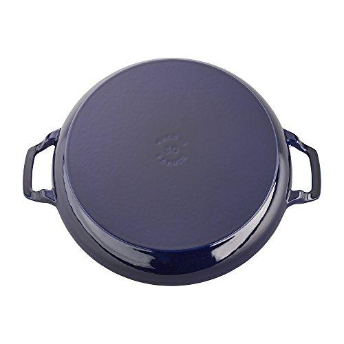 Staub Cast Iron 3.75-qt Braiser - Dark Blue by Staub (Image #2)