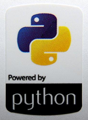 Powered by python Sticker 19 x 28mm [739]