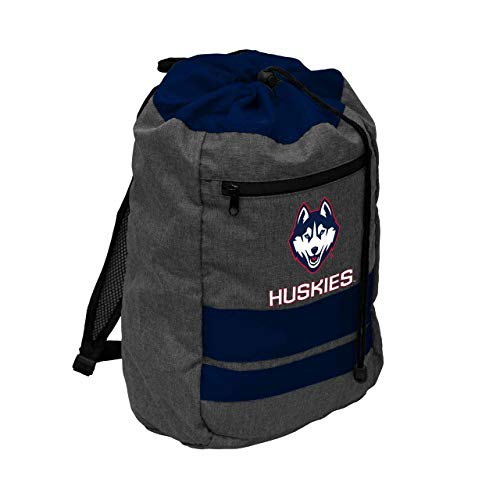 Logo UCONN Huskies NCAA Journey Backsack - Navy,