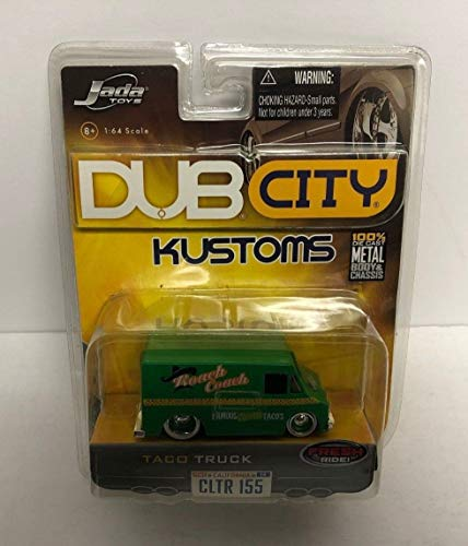 Taco Truck Roach Coach KUSTOMS Dub City Jada Toys diecast 2006 Wave 14