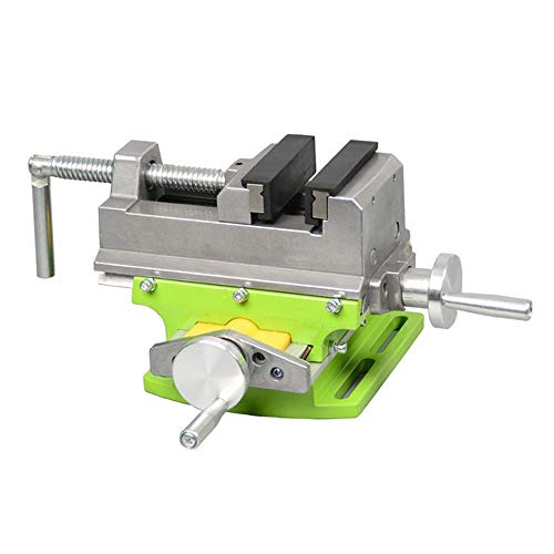"3"" Cross Slide Drill Press Vise 2 Way X- Y Compound Vise Cross Slide Mill Drill Press milling Vise"