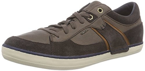 Geox U Box  - Zapatillas de deporte para hombre Coffee