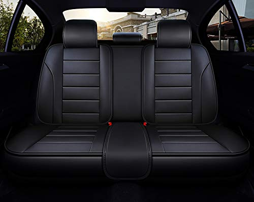 Empire Car Covers: INCH EMPIRE Adjustable Easy To Clean PU Leather Car Seat
