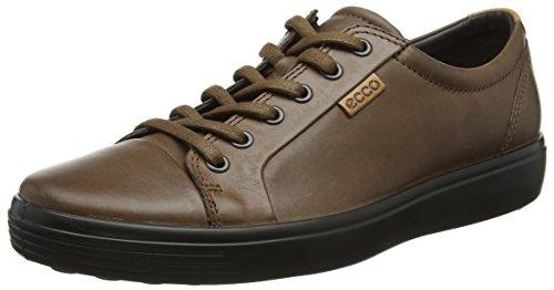 Para Ecco Zapatillas Soft Marrón Men's cocoa Hombre 7 Brown Wr1pqwrn7