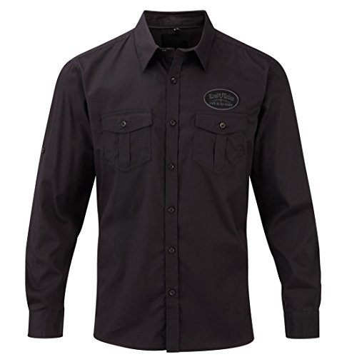 Worker Shirt, Langarm Hemd, Rock'n'Roll, Punk, Sailor, Schiff, Gegen den Wind