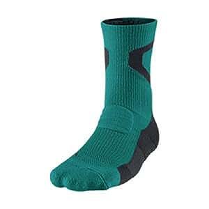 Nike Jordan AJ Jumpman Dri-FIT Men's Crew Socks- Small Teal/Black/Black