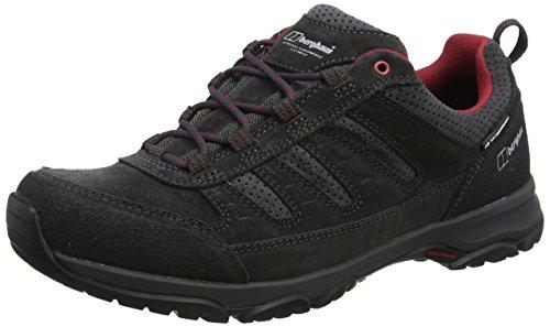 Berghaus Herren Expeditor Active AQ Tech Shoes Trekking-& Wanderhalbschuhe Mehrfarbig (Dark Grey/red)