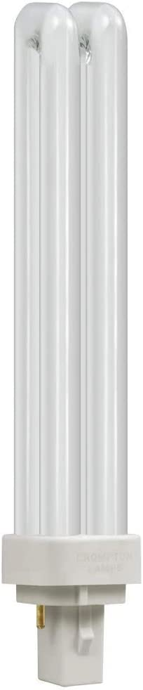 Crompton Compact Fluorescent D type 2 Pin CLD26SW White 3500k