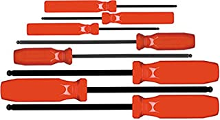 product image for EKLIND 90108 Ball-Hex (allen) Screwdriver - 8pc set SAE Inch Sizes .050-5/32