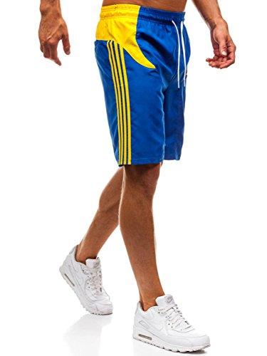 Shorts Pantalón Azul Baño Motivo De Corto Hombre 7g7 237 Bolf Bañadores ZqawPYOO