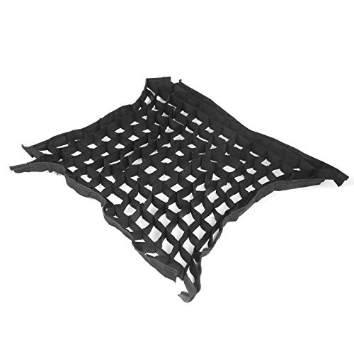 Softbox Cellular Grid, Nylon Softbox Beehive Grid, 4‑Corner with Fastening Tapes 60X60CM Foldable Portable for Shooting Studio Photography