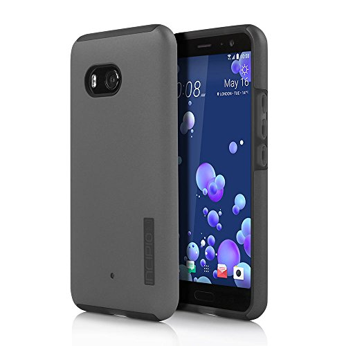 Incipio Cell Phone Case for HTC U11 - Gunmetal / Translucent Gray