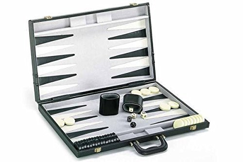 CHH Backgammon Game Set with Deluxe Case ()