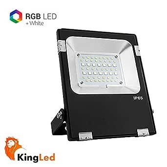 Mi-Light® FUTT04 Foco Proyector LED 20W RGB+CCT 2700K-6500K ...
