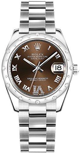 Women's Rolex Datejust 31 Luxury Watch (Ref. 178344)