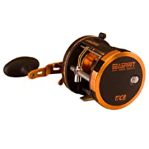 Tica USA SA458R Sea Spirit Bait Casting Reel, Black