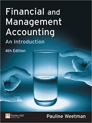 Financial and Management Accounting: An Introduction: Amazon