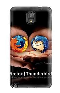 Viktoria Metzner's Shop 4754259K64402255 Perfect Firefox Thunderbird Case Cover Skin For Galaxy Note 3 Phone Case