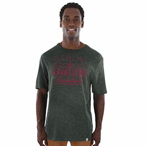 Majestic NBA Men's Underdog Wins Heathered Hyper Slub T-Shirt (XXL, Cleveland Cavaliers)