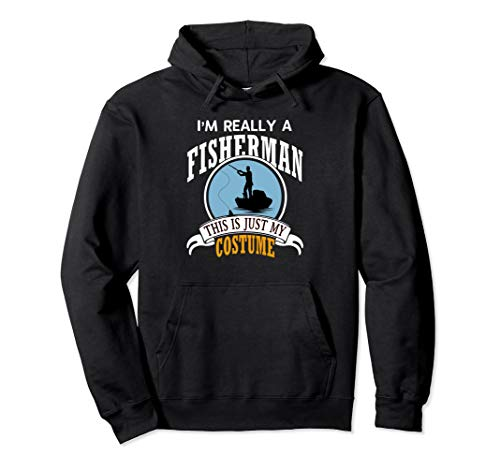 Fisherman Halloween Costume Hoodie This Is My Costume