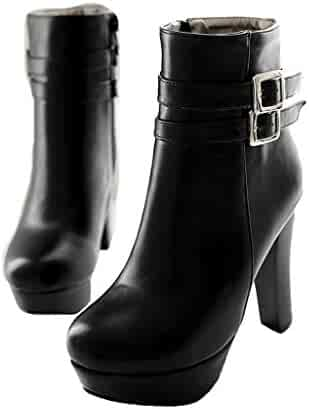 92b62864813d9 Shopping Red or Black - Combat - Dress - Ankle & Bootie - Boots ...