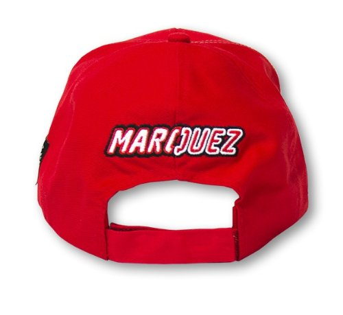 MARC MARQUEZ MOTOGP BASEBALL CAP HAT OFFICIAL MERCHANDISE RED 93 MOTO GP MMMCA59707