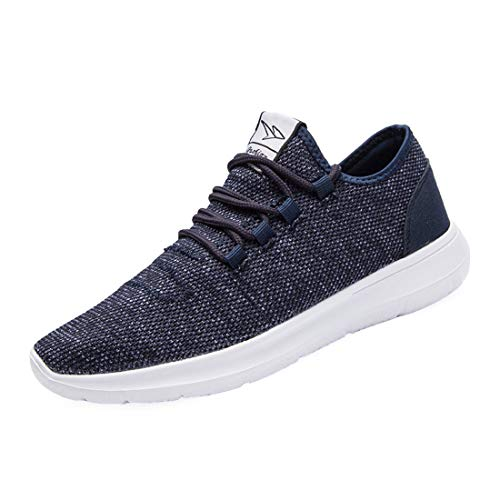 KEEZMZ Men's Running Shoes Fashion Breathable Sneakers Mesh Soft Sole Casual Athletic Lightweight 2