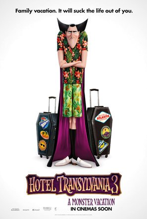 Import Posters HOTEL TRANSYLVANIA 3 US Movie Wall Poster Print