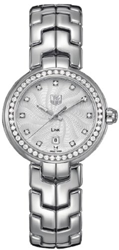 TAG Heuer Womens Link Stainless Steel & Diamond Watch WAT1316.BA0956