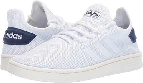 adidas Men's Court Adapt, White/Dark Blue, 12.5 M ()