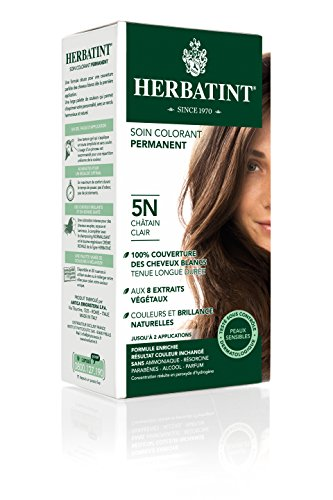HERBATINT 5N Light Chestnut Hair Color, 4.56 -