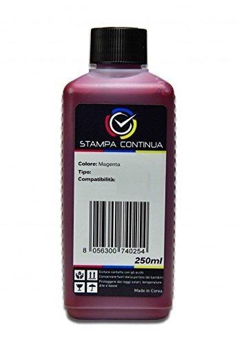 Tinta Magenta 250ml compatible con cartuchos Epson 18 / 18XL para ...