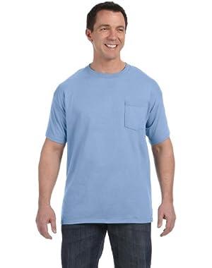 Hanes Tagless 6.0 T-Shirt With A Pocket