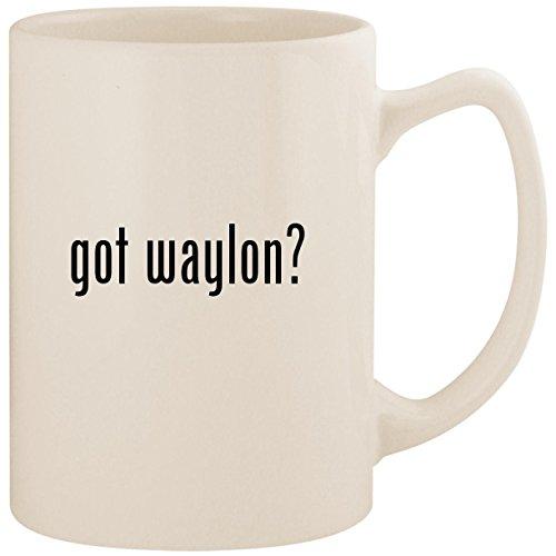 got waylon? - White 14oz Ceramic Statesman Coffee Mug Cup