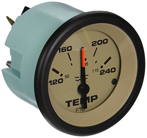 Sierra International 59706P Sahara Scratch Resistant Water Temperature Gauge, 2